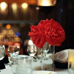 Red Pomander Ball Centerpieces